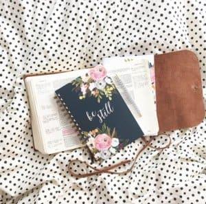 Be Still Journal healthylivingmom.com