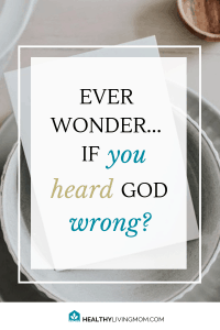 """You feel like God is leading you to do something—then it doesn't go right. You don't have to question """"Did I hear God wrong?""""—if you do this one thing. #didiheargodwrong #hearinggodsvoice"""