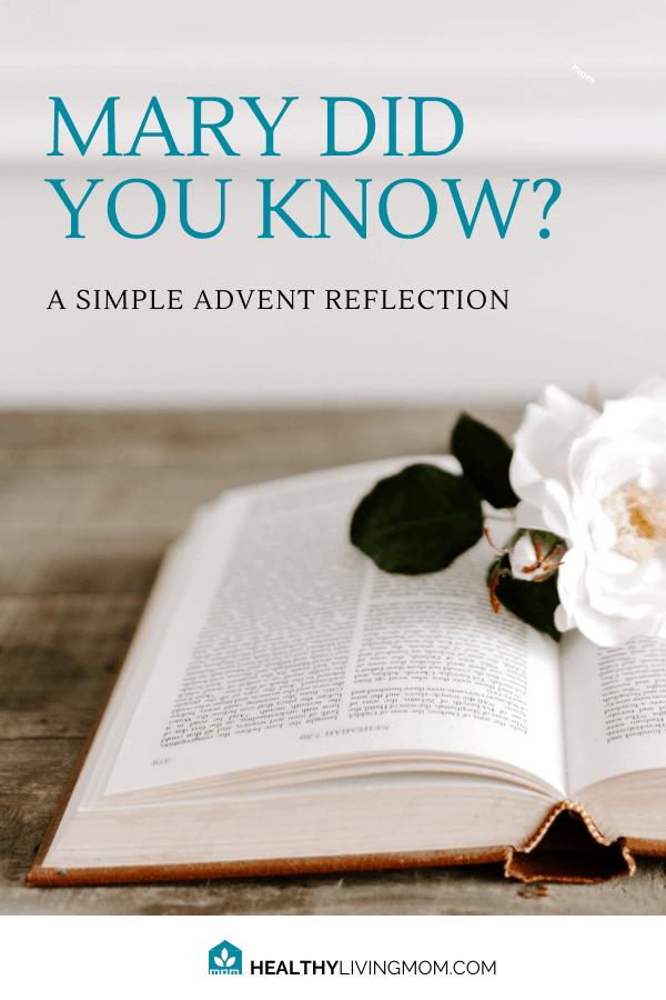 Mary did you know? Famously known for the song, but we know a lot about what Mary knew by looking at Mary's Song in Luke. Here's a simple Advent reflection.