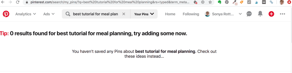 Looking for the best tutorial on meal planning for beginners on Pinterest—to find that there are ZERO results!!
