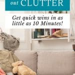 How to be Effective at Clearing the Clutter [plus 10 minute challenge] 1