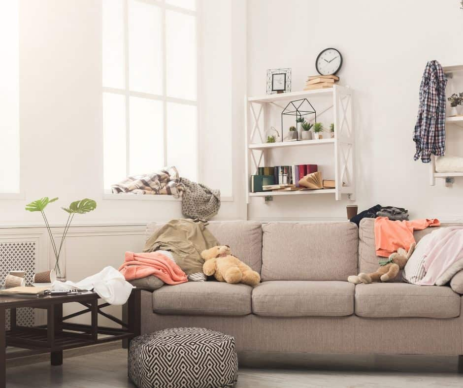 How to be Effective at Clearing the Clutter [plus 10 minute challenge]